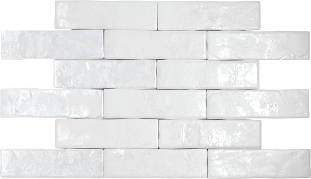 Керамогранит BrickWall Blanco